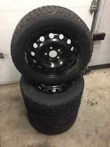 4 pneus hiver Firestone Winterforce 205/60r16