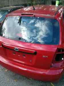 Kia Spectra 5 red rear door hatch Windsor Region Ontario image 1