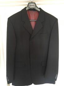 Smart black suit