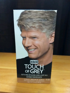 Touch if grey for men