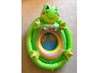 Baby inflatable swim ring