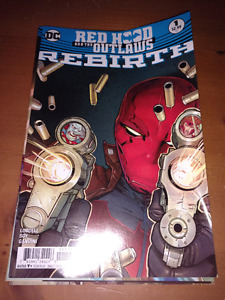 DC Rebirth Redhood and the Outlaws #1-5 comic book lot