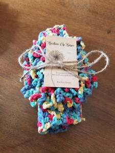Hand crafted 100% cotton spa and bath items
