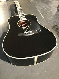 GUITARE ACOUSTIQUE BOUCHER BLACK AAAA