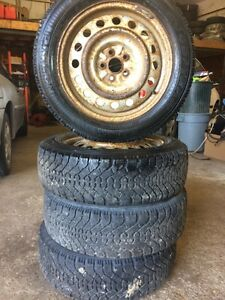 205/55r16 snow tires  Toyota matrix/corolla Kitchener / Waterloo Kitchener Area image 3