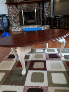 Coffee table real wood refinished
