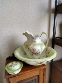 Victorian washstand set 3 piece