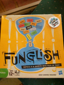 "Funglish board game ""Brand New"""