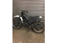 YAMAHA DT LC 125 WATWR COOLED 1ST RACE ENGINE BREAKING
