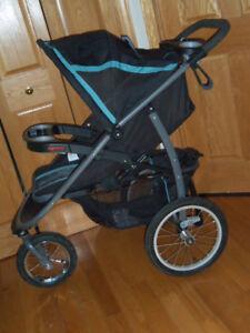 Poussette 3 roues jogging graco