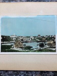 Vintage photograph Village of  Herring Cove, NS