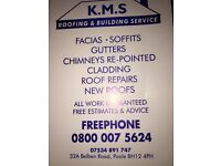 K.m.s Roofing & Building services