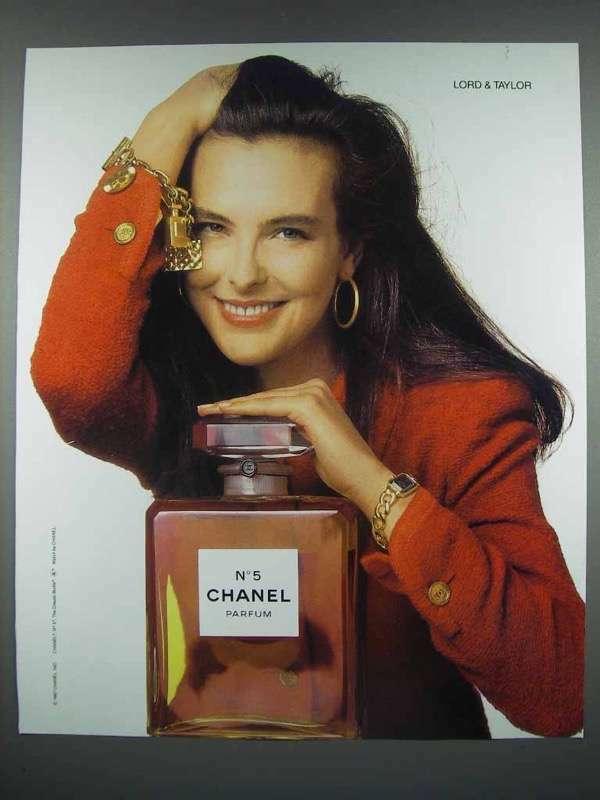 1988 Chanel No 5 Perfume Parfum Ad