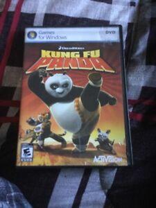 Kung-fu panda computer game