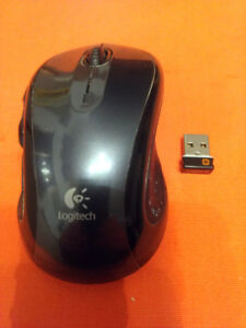 Logitech M510 Wireless Mouse, Black