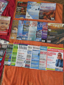 Large LOT of Magazines.... pickup location is the town site of S