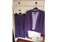 Ladies skirt suit size 14