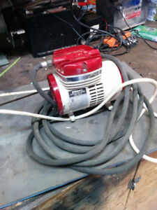 Tankless air compressor