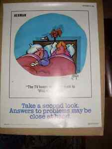 Herman safety posters 1987 Kitchener / Waterloo Kitchener Area image 2