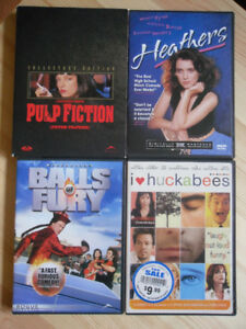Pulp Fiction (Collector's Edition), Heathers, and more