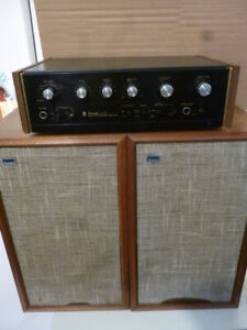 Sansui AU 505 Integrated Amp / AS 100 2-Way Speakers