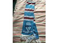 Vintage Manchester City Retro Scarf 'TIL I Die'!