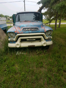 1956  GMC  One ton grain truck
