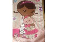Large rug £5 hello kitty wooden house with figures £12