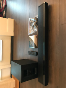 Bose Home Theatre System - Sound Bar and Sub Woofer
