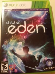 Xbox 360 Kinect children of Eden (used)