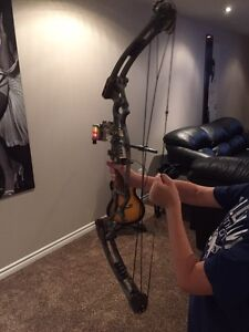 Hoyt left handed compound bow