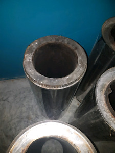 Wood stove pipes,