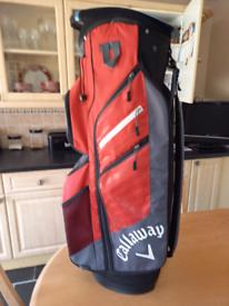 Callaway Cart Bag New £135