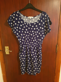 Bow Print Dress Size Medium