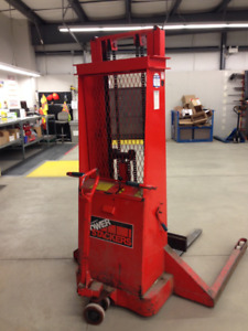 Used Power Stacker