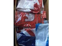 Brand new flags X 117 eBay/Carboot sales opportunity