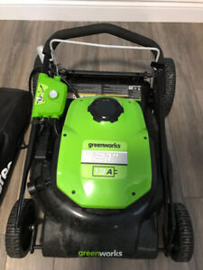 """Greenworks 13A Electric lawnmower 21"""""""