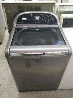 Whirlpool Cabrio Glass Top Load Washer Only $450+HST!!!