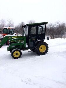 Cabine de tracteur pour tout genre de tracteur