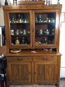Buffet & Hutch over 100 years old excellent condition