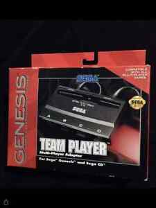 Sega Genesis/CD Team Player in New condition !!