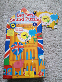 Big Ben sound puzzle