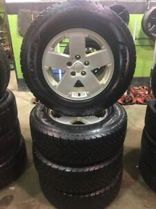 Jeep Wrangler Snow Tire & Alloy Rim Package!!!!