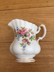 Royal Albert Moss Rose Milk Jug