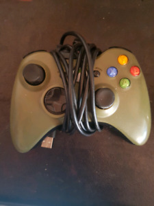 Army green xbox 360 wireless controller $15 firm