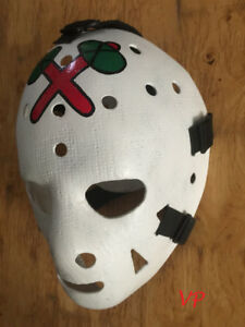 Vintage Goalie Full Size Hockey Masks by Artist Don Scott