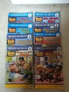 Level 1 Bob the Builder Books