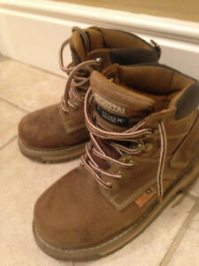 dakota t-max ladies work boots