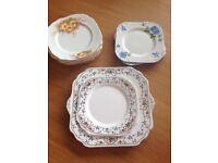China tea plates