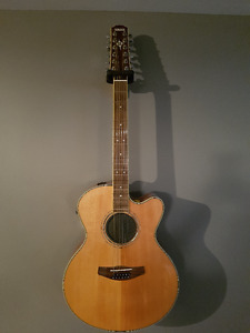 Yamaha Compass 12 string acoustic/electric guitar